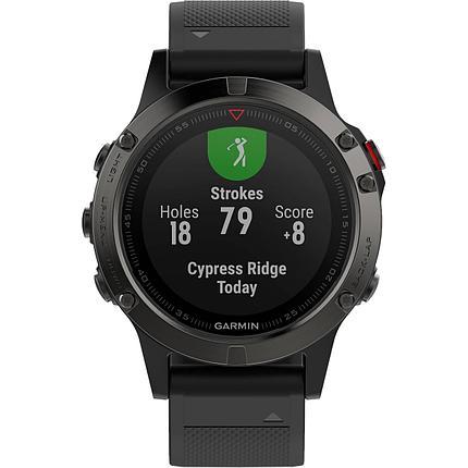 Смарт-часы Garmin Fenix 5 черный/серый, фото 2