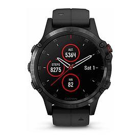 Смарт-часы Garmin Fenix 5 Plus Sapphire черный