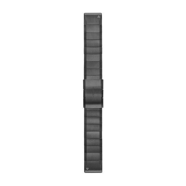 Ремешок для GPS часов Garmin Fenix 5/6 титан темно-серый