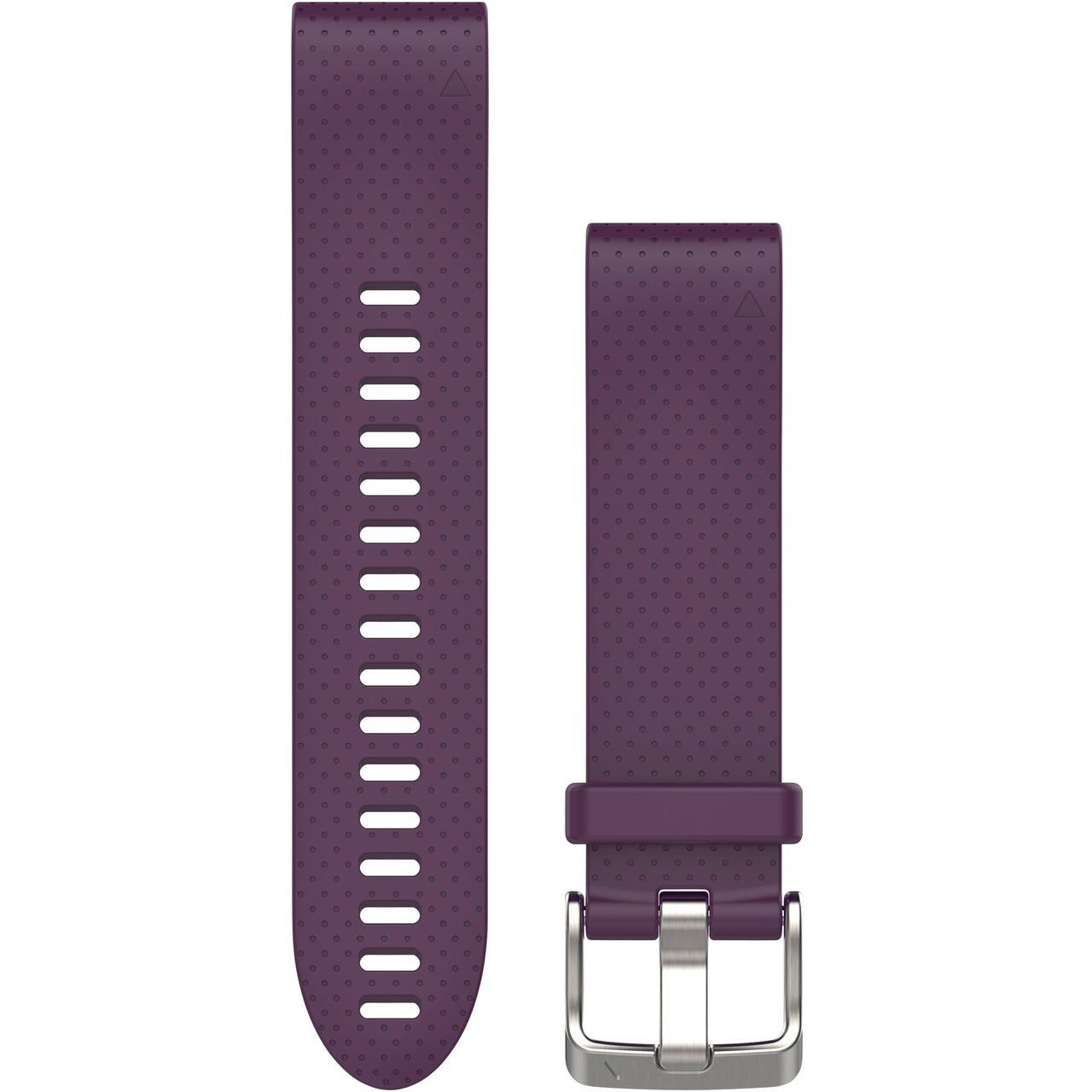 Ремешок для GPS часов Garmin Fenix 5S/6S силикон фиолетовый
