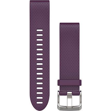 Ремешок для GPS часов Garmin Fenix 5S/6S силикон фиолетовый, фото 2