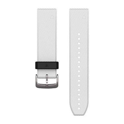 Ремешок для GPS часов Garmin Fenix 5/6 силикон белый, фото 2