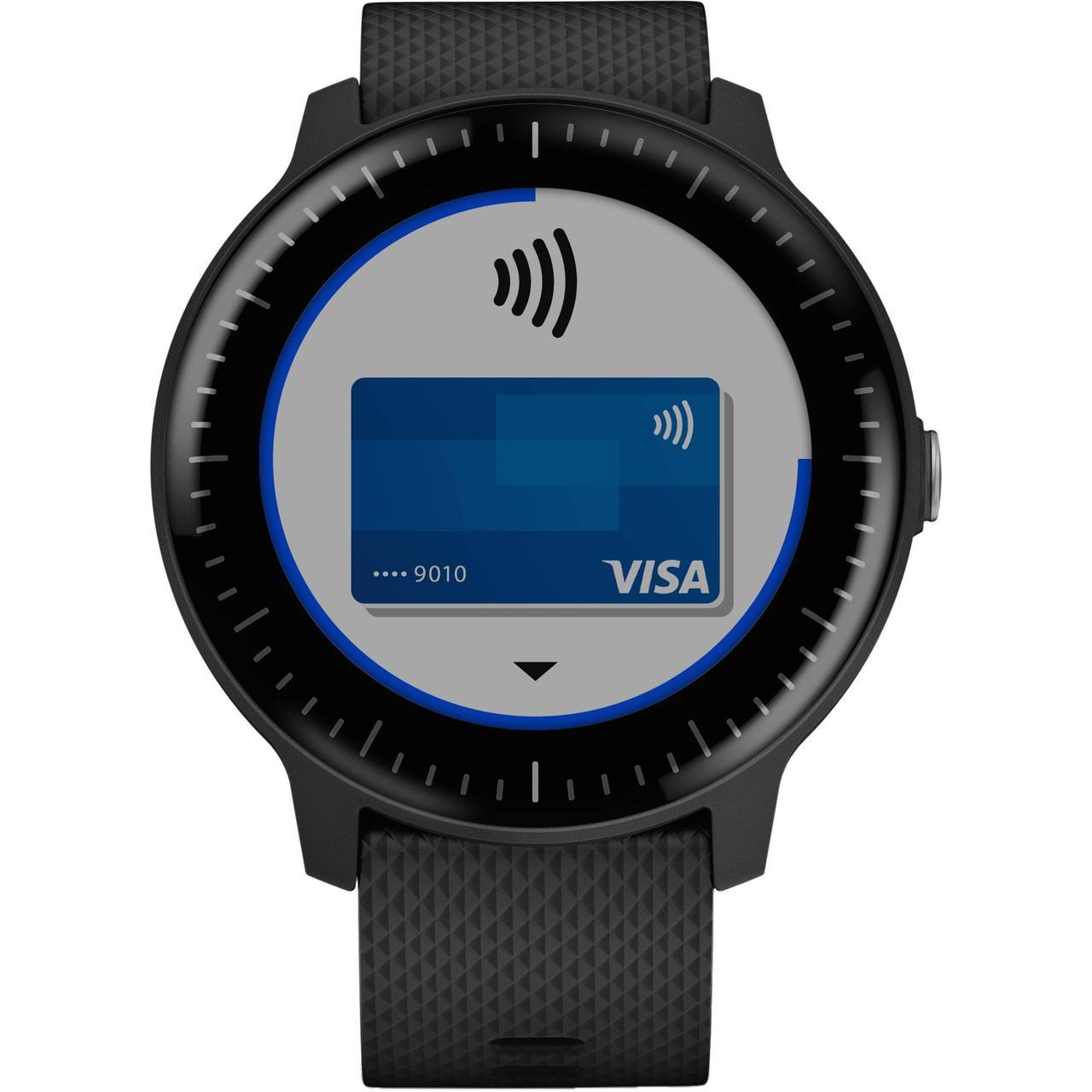 Смарт-часы Garmin Vivoactive 3 Music черный