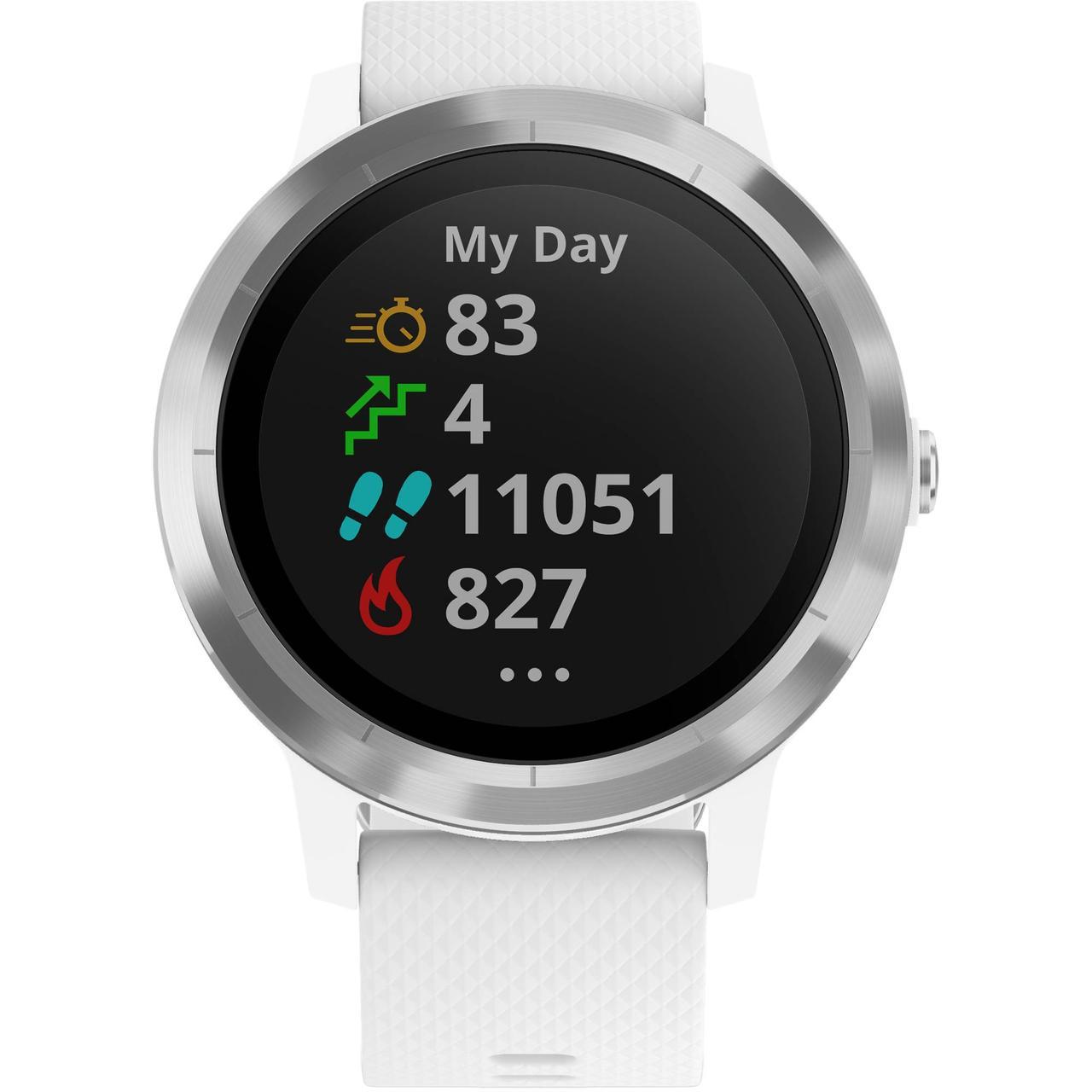Смарт-часы Garmin Vivoactive 3 белый