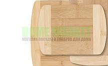 Доска разделочная (бамбук) 20*14*1,4 см.