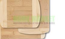 Доска разделочная (бамбук) 30*20*1,4 см.
