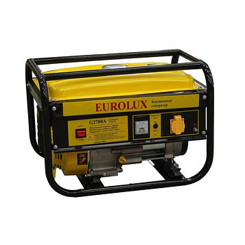 Электрогенератор Eurolux G2700A, бензиновый, 2/2.2 кВт, 220В, 5.5 л.с., 15 л, ручной старт