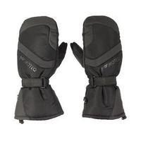 Зимние рукавицы БОБЕР чёрный, серый, XL