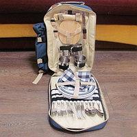Набор для пикника на 4 персоны -рюкзак