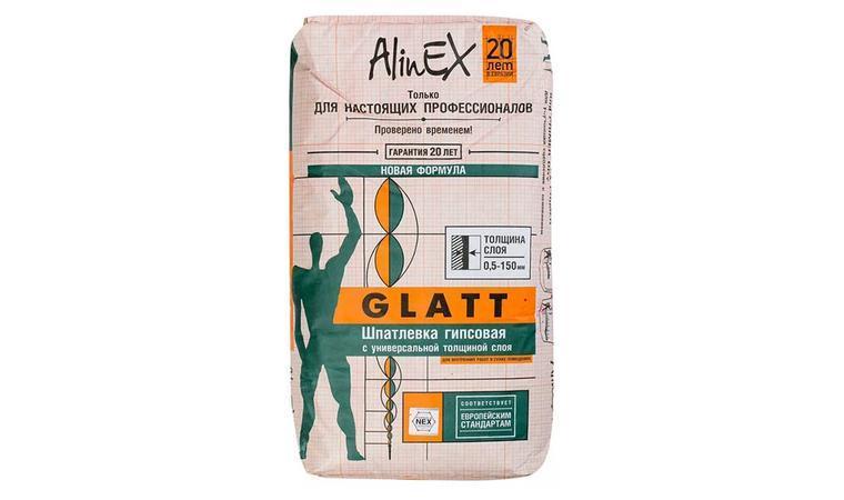 Гипсовая штукатурка GLATT