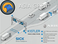 Автовесы в движении Kistler