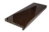 Подоконник ПВХ ELESGO 350 мм темный дуб