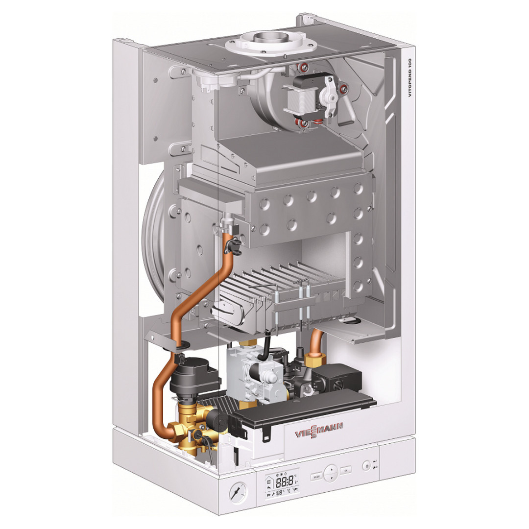 Настенный газовый котел Wiessmann Vitopend 100-W 34 kWt
