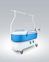 Кровать лечебно-ожоговая и противопролежневая «Сатурн-90» КМ-06 «детский» вариант (длина ванны 165 см)