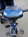 Детский трехколесный велосипед BMW 5 с поворотным сиденьем, фото 8