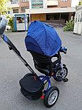 Детский трехколесный велосипед BMW 5 с поворотным сиденьем, фото 9
