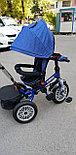 Детский трехколесный велосипед BMW 5 с поворотным сиденьем, фото 10