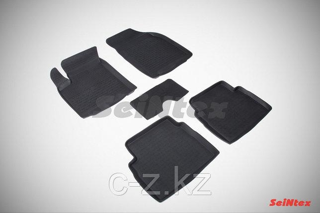Резиновые коврики с высоким бортом для Ravon Nexia R3 2015-н.в, фото 2