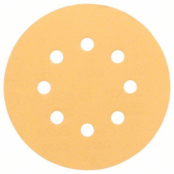 Шлифовальный круг K 320 Bosch Best for Wood and Paint 125 мм, 50 шт