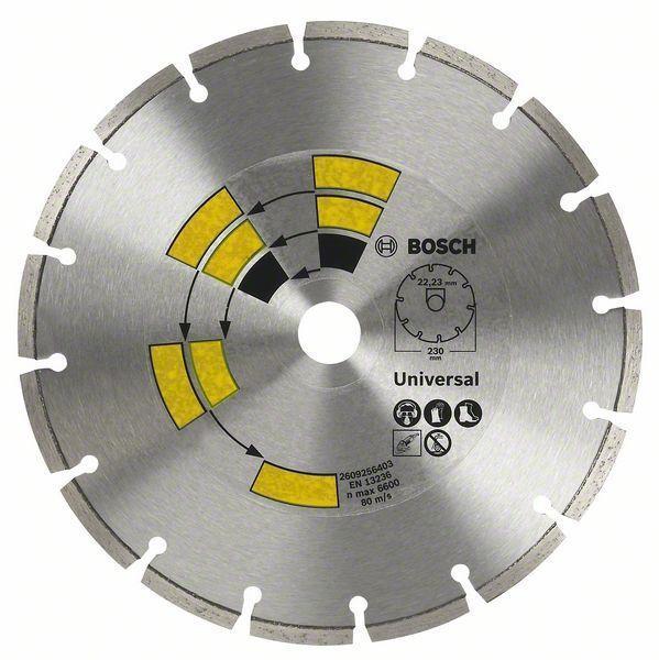 Алмазный отрезной круг универсальный Bosch Eco for Universal 230x22.23x2.4x7 мм