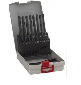 Набор сверл по металлу Bosch HSS-R ProBox, 19 шт