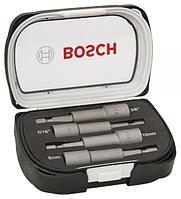 """Набор ударных магнитных головок HEX 1/4"""" Bosch 65 мм, 4 шт"""