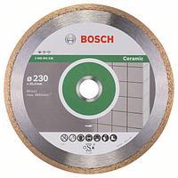 Алмазный отрезной круг по керамике Bosch Standard for Ceramic 230x25.4x1.6x7 мм