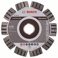 Алмазный отрезной круг по абразивным материалам Bosch Best for Abrasive 125x22.23x2.2x12 мм