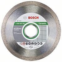 Алмазный отрезной круг по керамике Bosch Standard for Ceramic 115x22.23x1.6x7 мм, 10 шт