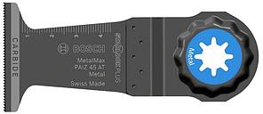 Погружное пильное полотно Bosch Starlock Plus Carbide Metal Max PAIZ 45 AT