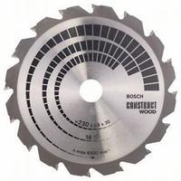 Пильный диск Bosch Construct Wood 230х30, Z16, фото 1