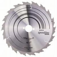 Пильный диск Bosch Speedline Wood 230 x 30, Z18, фото 1