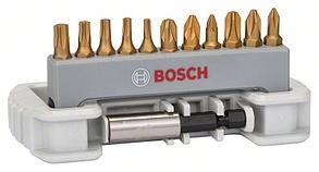 Набор бит Bosch Max Grip, 11+1 шт