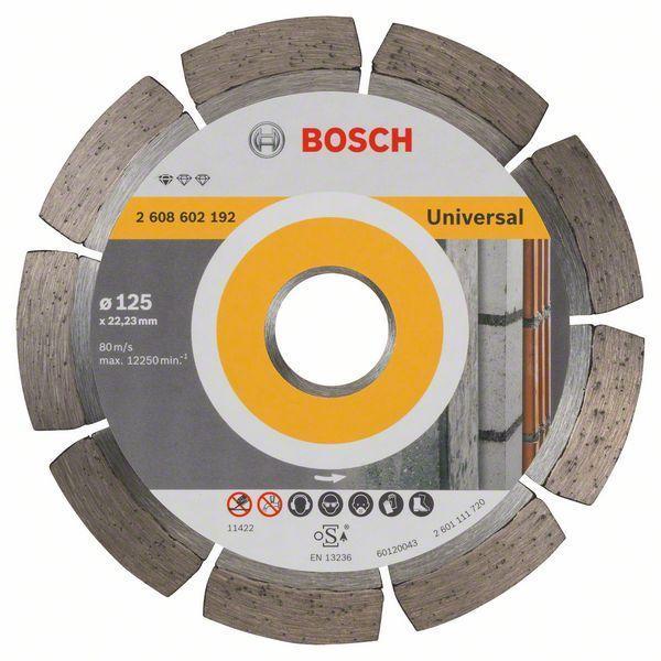 Алмазный отрезной круг универсальный Bosch Standard for Universal 125x22.23x1.6x10 мм, 10 шт
