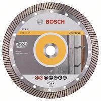 Алмазный отрезной круг универсальный Bosch Best for Universal Turbo 230x22.23x2.5x15 мм