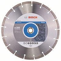 Алмазный отрезной круг по камню Bosch Standard for Stone 300x20/25.4x3.1x10 мм, фото 1