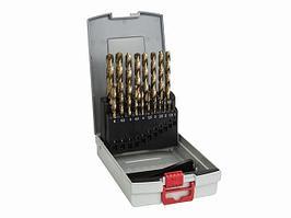 Набор сверл по металлу Bosch HSS-TiN ProBox, 19 шт