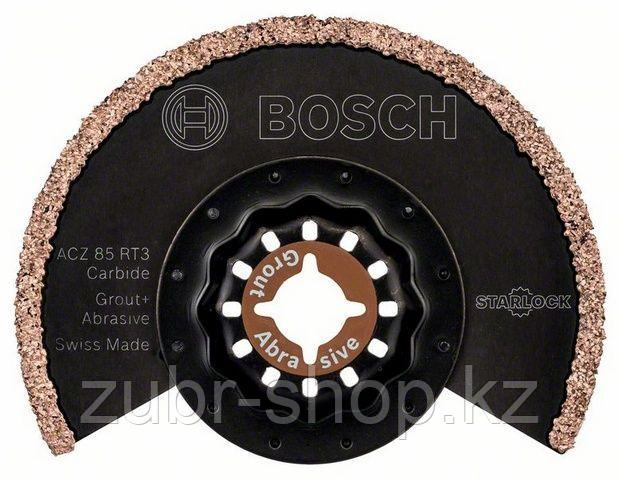 Сегментированное полотно Bosch Starlock Carbide-RIFF ACZ 85 RT3
