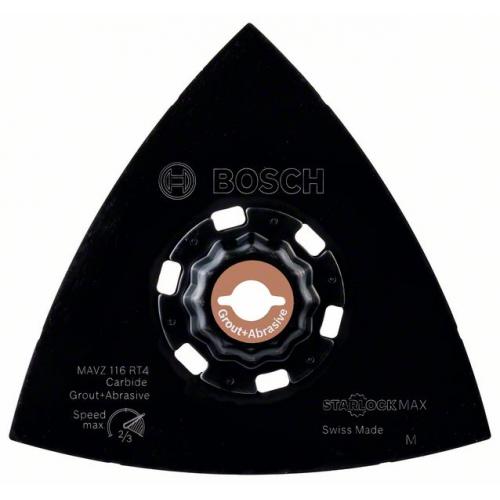 Шлифовальная подошва Bosch Starlock Max Carbide МAVZ 116 RT4