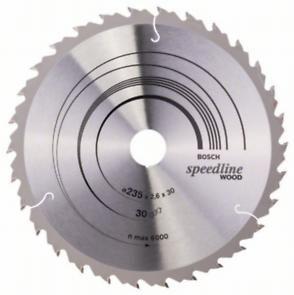 Пильный диск Bosch Speedline Wood 235 x 30/25, Z30