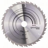 Пильный диск Bosch Speedline Wood 235 x 30/25, Z30, фото 1