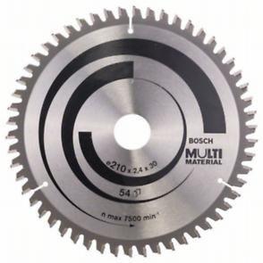 Пильный диск Bosch Multi Material 210х30, Z54