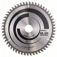 Пильный диск Bosch Multi Material 210х30, Z54, фото 1