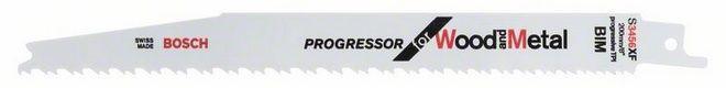 Сабельное полотно по дереву c металлом Bosch Progressor for Wood and Metal S 3456 XF, 5 шт