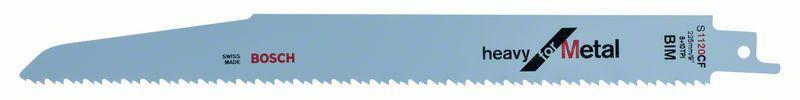 Сабельное полотно по металлу Bosch Heavy for Metal S 1120 CF, 5 шт