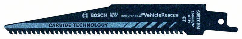 Сабельное полотно по металлу Bosch Endurance for Vehicle Rescue S 957 CHM, 10 шт