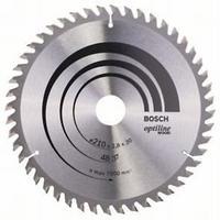 Пильный диск Bosch Optiline Wood 210 x 30, Z48, фото 1