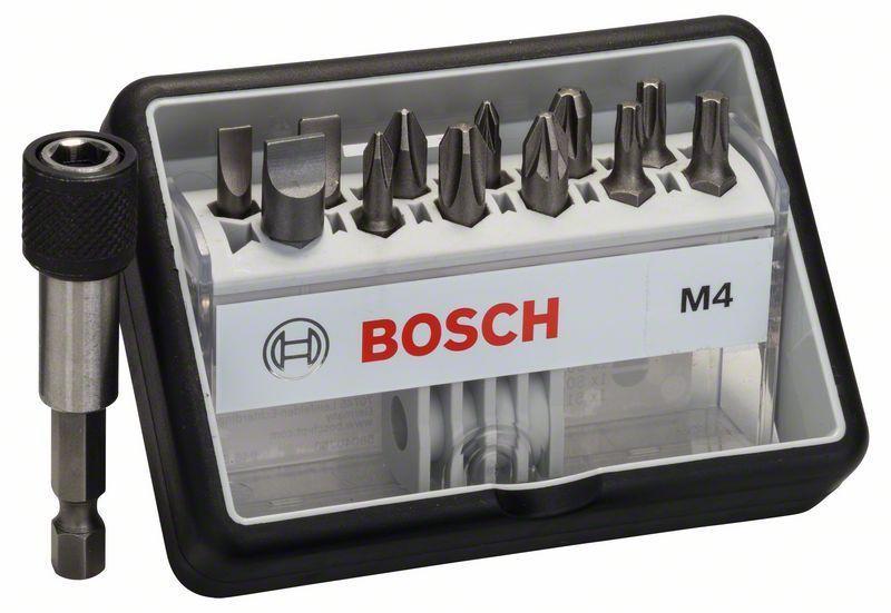Набор бит Bosch Robust Line Extra-Hart M4, 13 шт