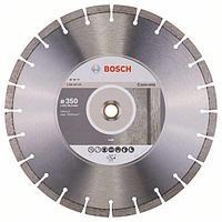 Алмазный отрезной круг по бетону Bosch Expert for Concrete 350x20/25.4x3.2x12 мм, фото 1