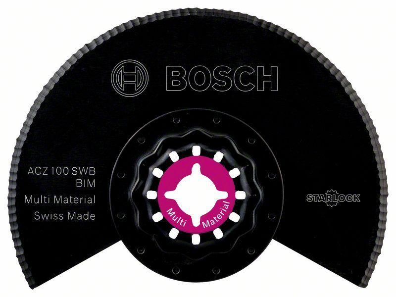 Сегментированный волнистый нож Bosch Starlock BIM ACZ 100 SWB